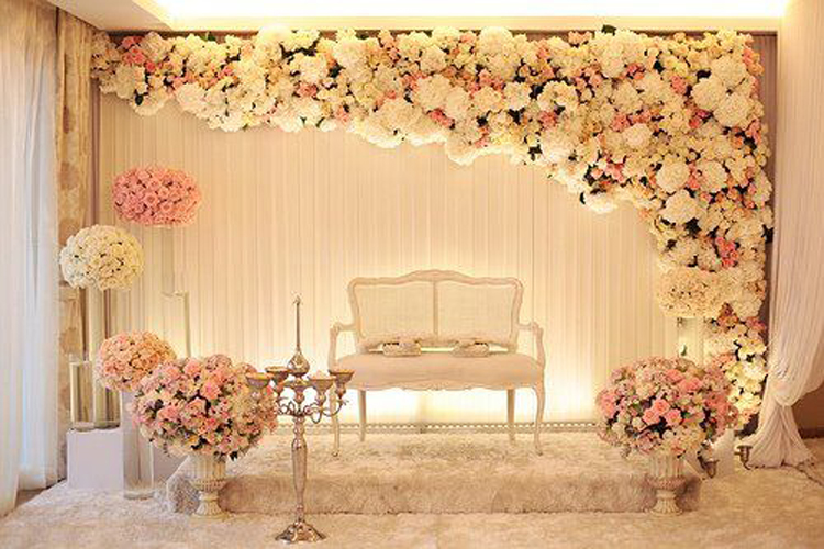 Fresh flower arrangement wedding floral decoration in chennai wedding floral decoration in india chennai junglespirit Choice Image